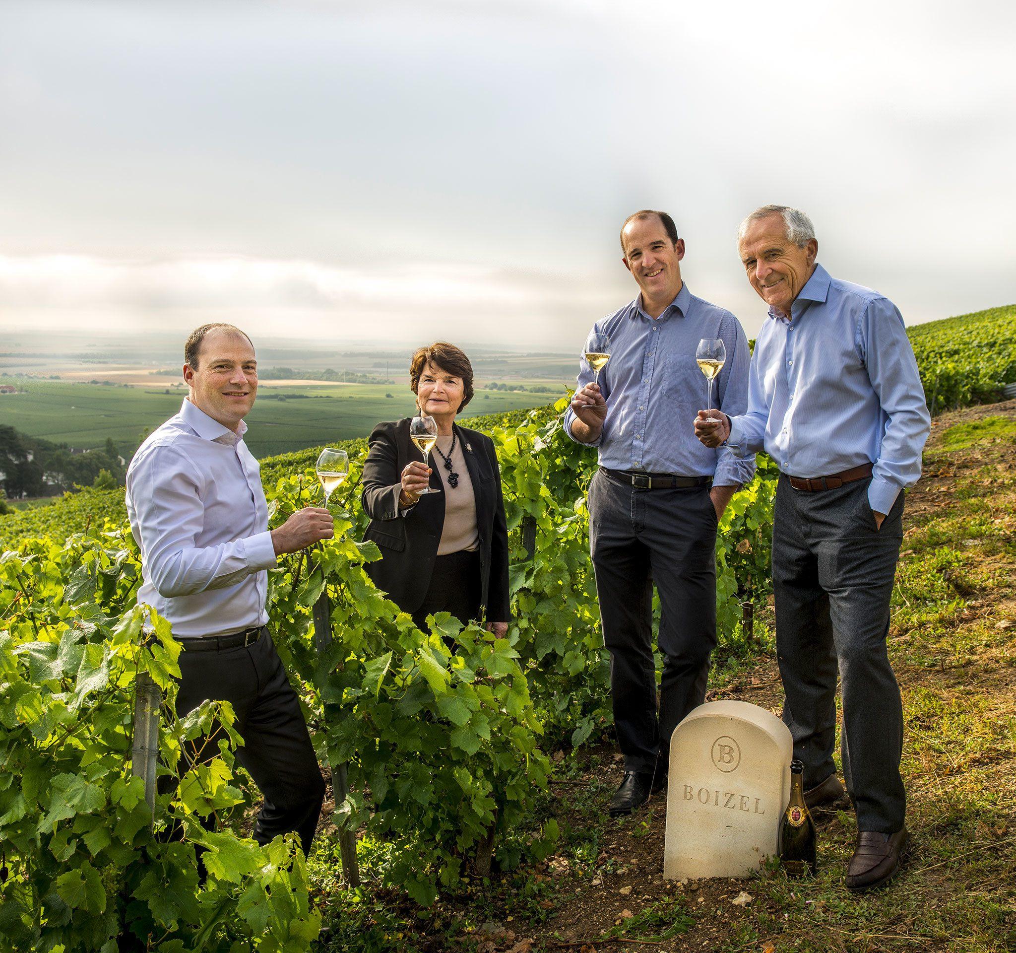 AVIZE - Champagne Boizel - Epernay France