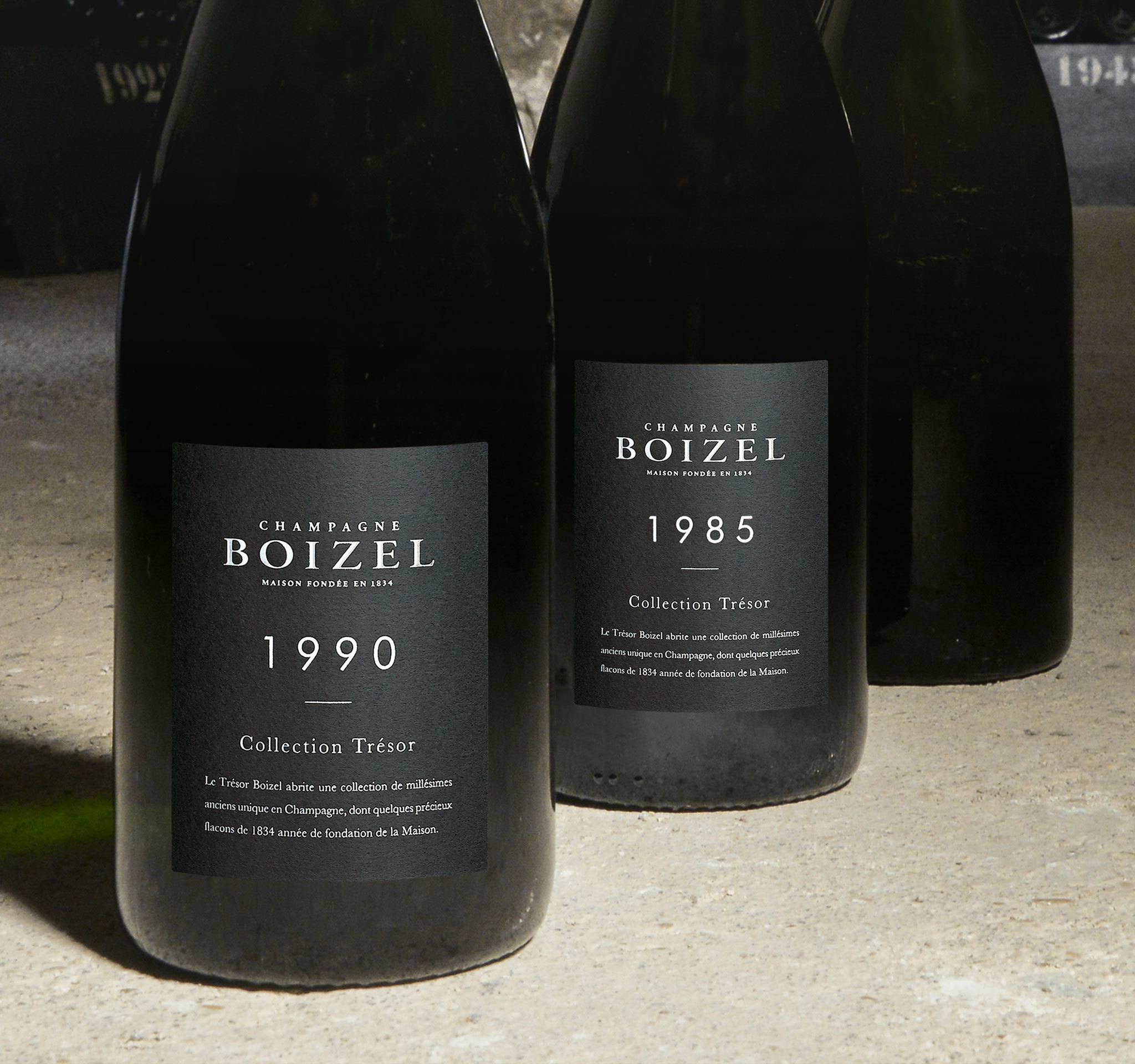 La collection Trésor - Champagne Boizel - Epernay France
