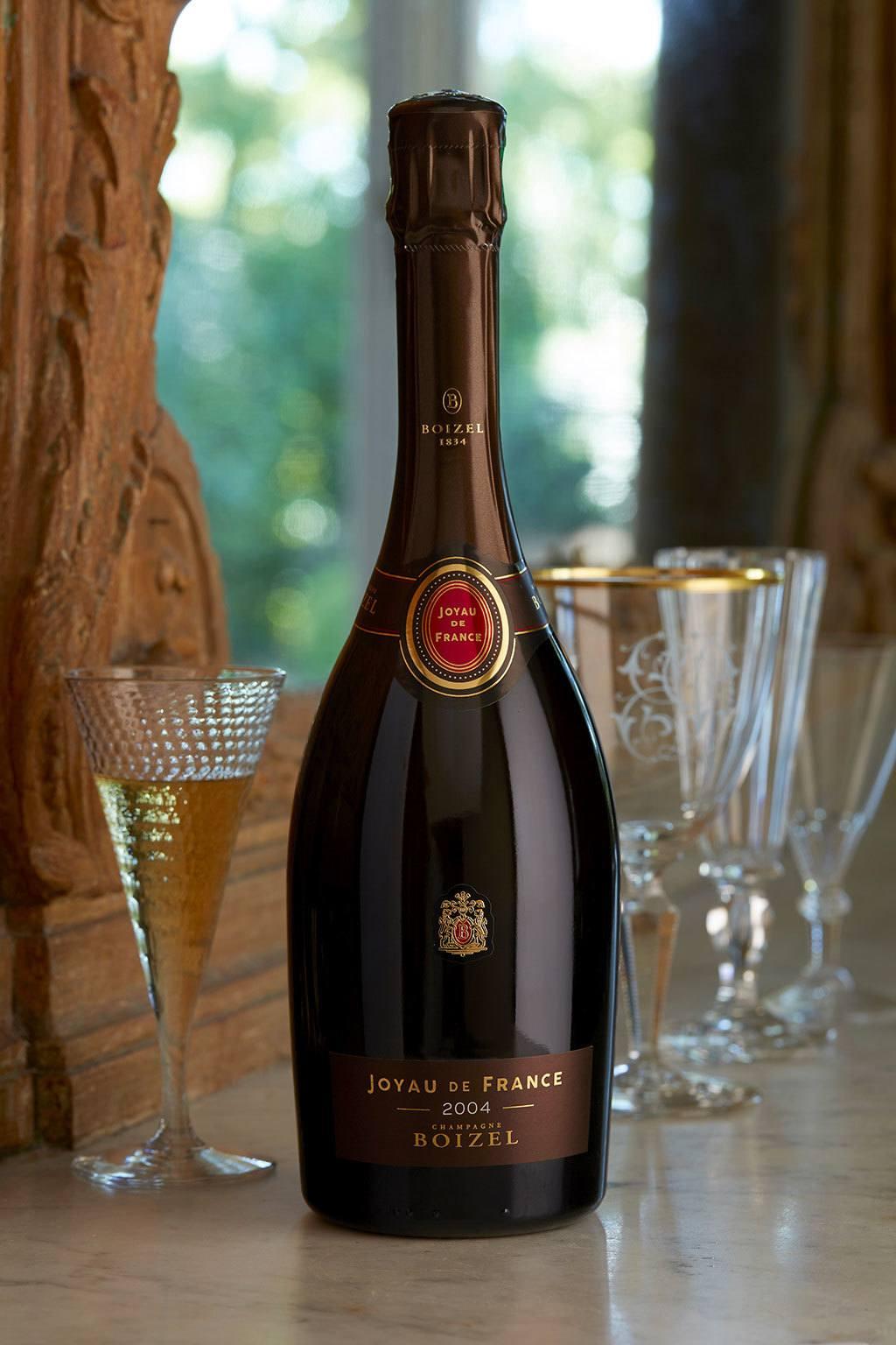Joyau de France Chardonnay 2007 - Champagne Boizel - Epernay France