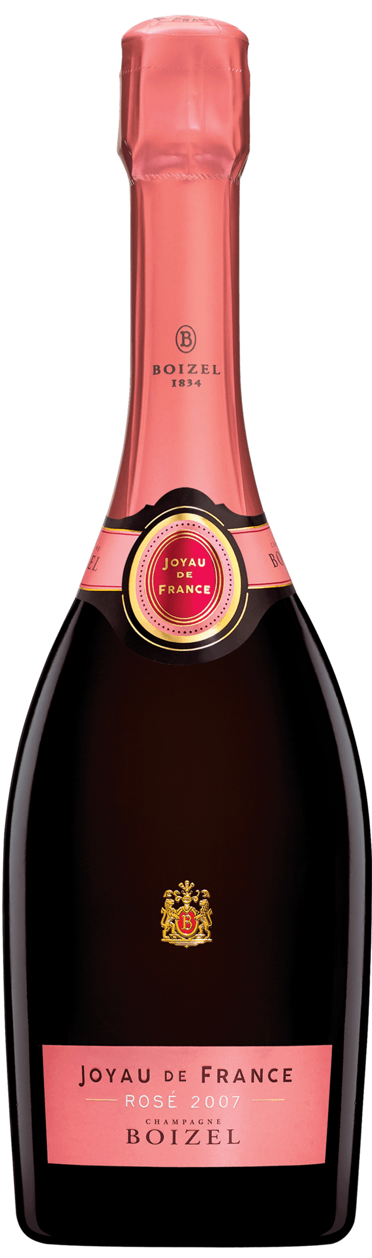 Joyau de France Rosé 2007 - Champagne Boizel - Epernay France