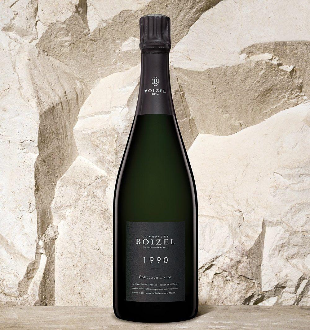 Collection Trésor<br>1990 - Champagne Boizel - Epernay France