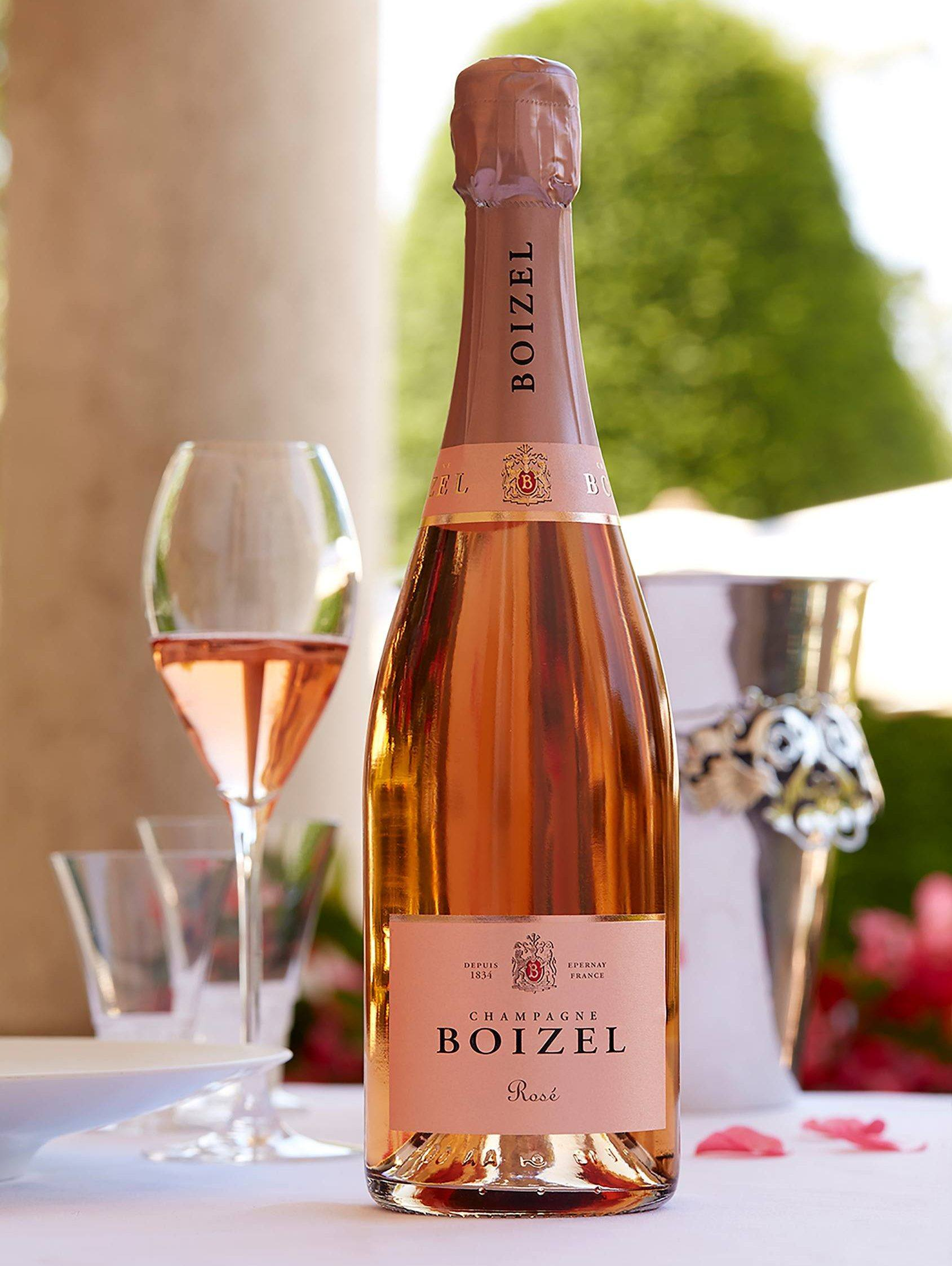 Rosé - Champagne Boizel - Epernay France